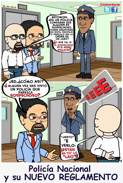 Reglamento Policía Nacional
