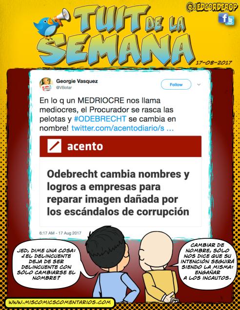 Tuit de la Semana_Odebrecht_Nombre